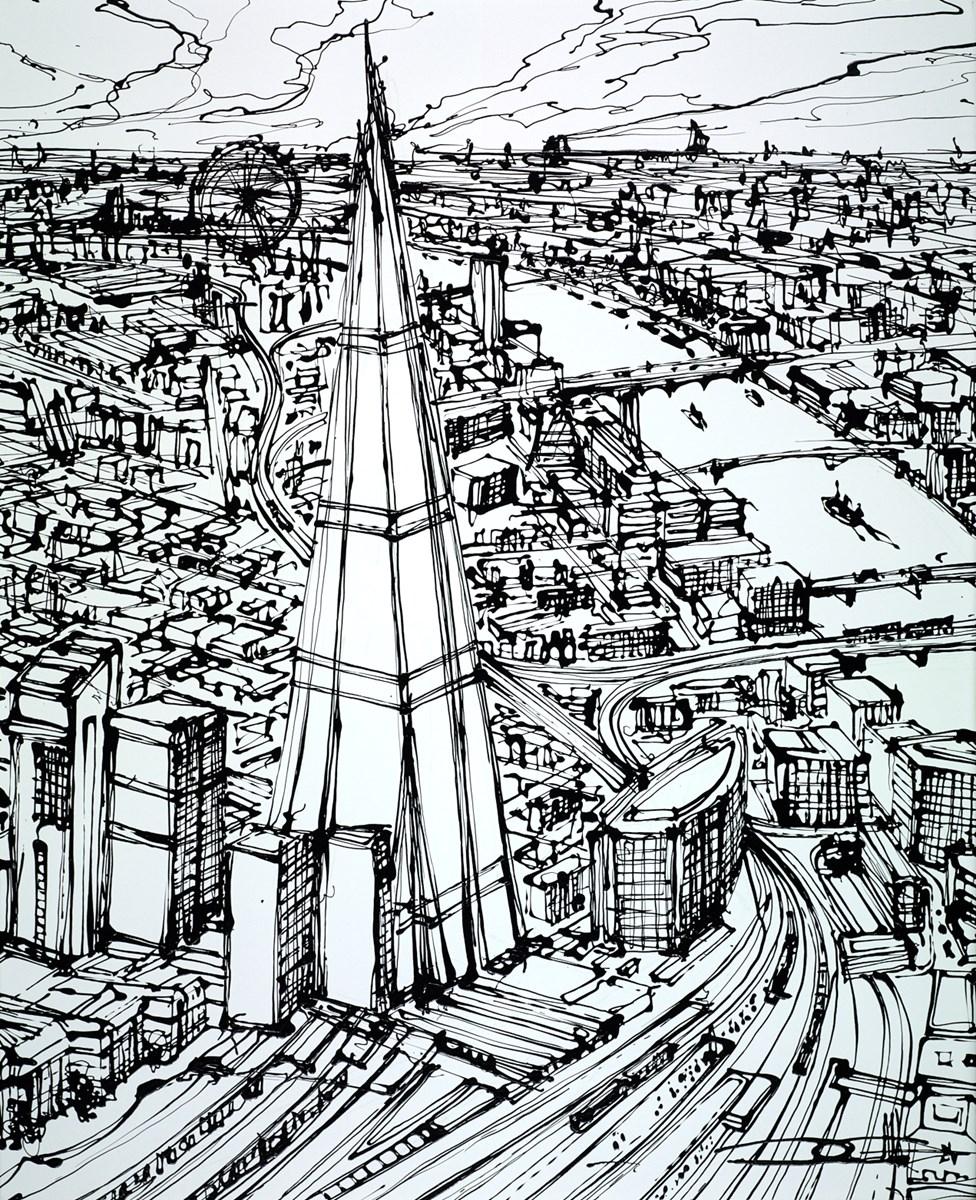 The Shard Above London Bridge